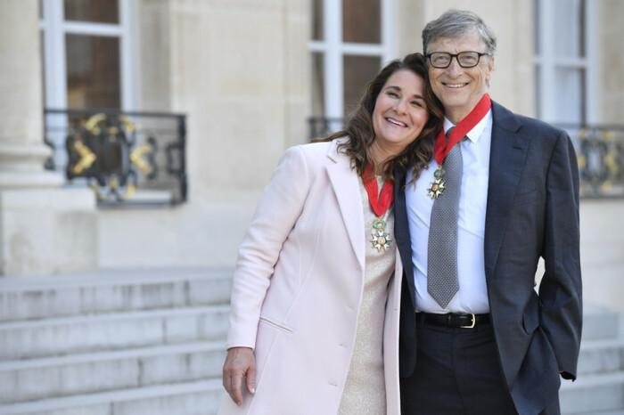 Мелинда и Билл Гейтс.  / Фото: www.nv.ua