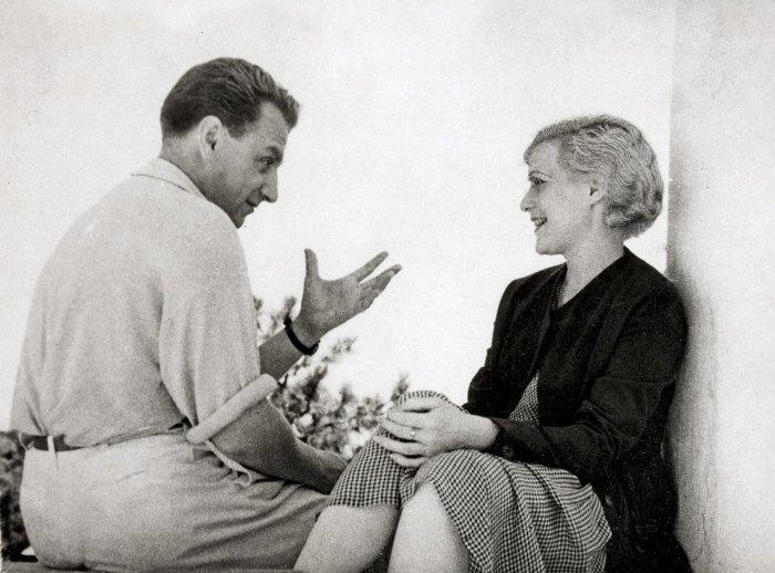 Григорий Александров и Любовь Орлова. / Фото: www.twimg.com