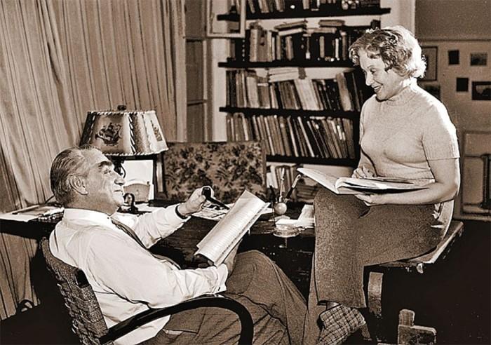 Григорий Александров и Любовь Орлова. / Фото: www.livejournal.com