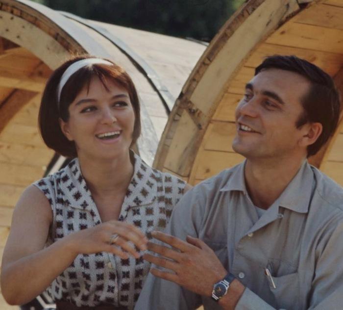 Лариса Шепитько и Элем Климов. / Фото: www.blogspot.com