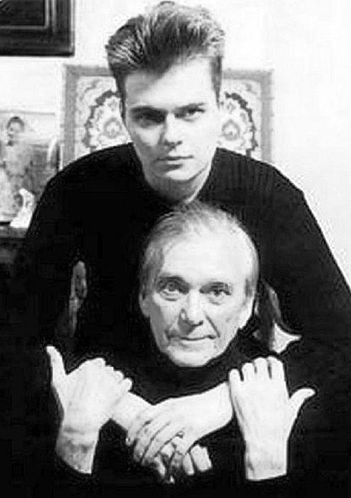 Антон Климов с отцом. / Фото: www.welikeworld.com