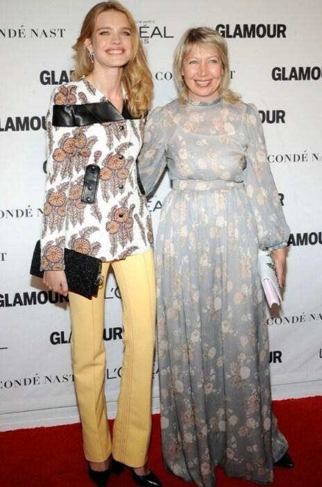Наталья Водянова с мамой. / Фото: www.obozrevatel.com