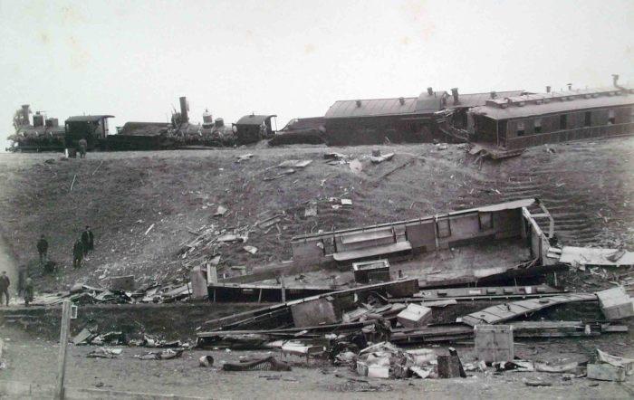 Крушение поезда./Фото:https://commons.wikimedia.org
