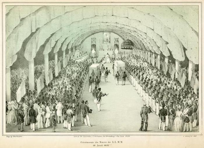 Коронация Фостена./Фото: https://www.wikiwand.com