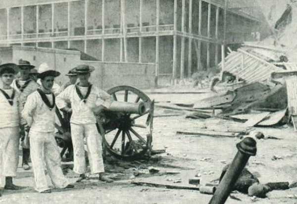 Английские моряки после победы./teletype.in