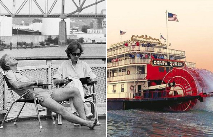 Джимми и Розалин Картер,  судно Delta Queen