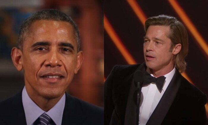 Барак Обама, Брэд Питт