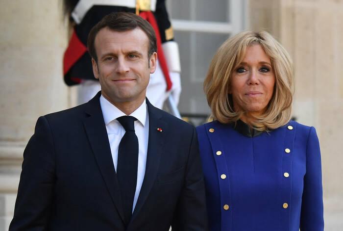 супруга президента Франции Брижит Макрон