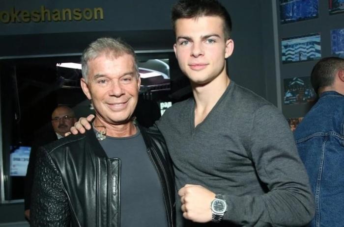 Олег Газманов с сыном Филиппом