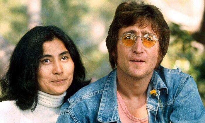 Йоко Оно и Джонн Леннон