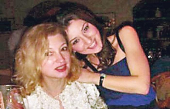 Светлана Дубинская с дочерью Ингой