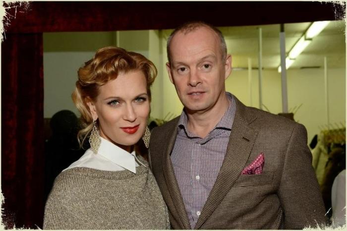 Олеся Судзиловская с мужем Сергеем Дзебань