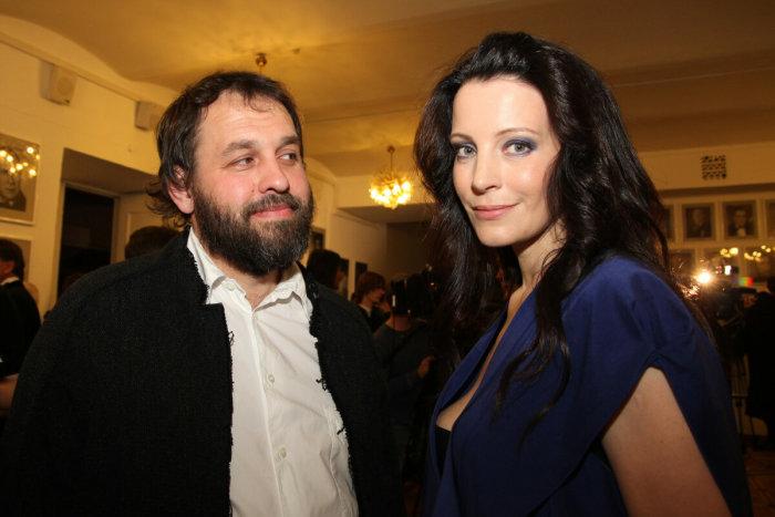 Евгения Крюкова с мужем Сергеем Гляделкиным