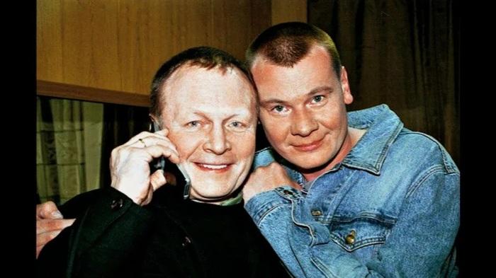 Борис Галкин с сыном
