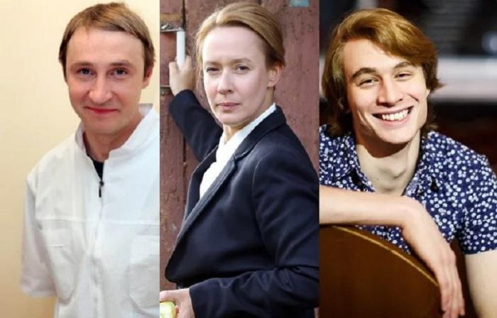 Евгения Дмитриева, Андрей Кайков и Владимир Киммельман