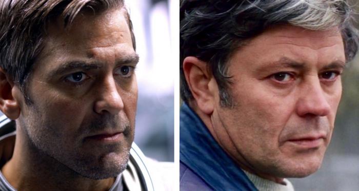 Донатас Банионис и Джордж Клуни