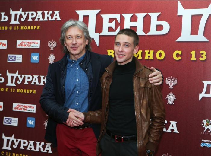 Алексей Веселкин с сыном