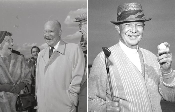Дуайт и Мейми Эйзенхауэр