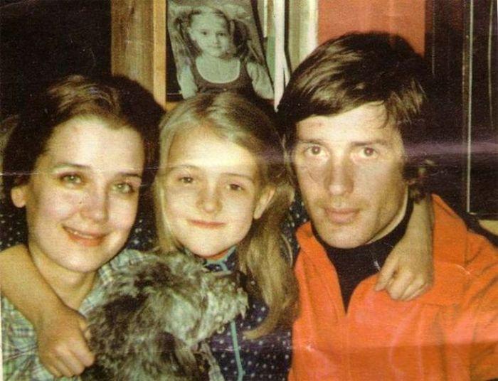 Александр Абдулов с приемной дочерью Ксенией
