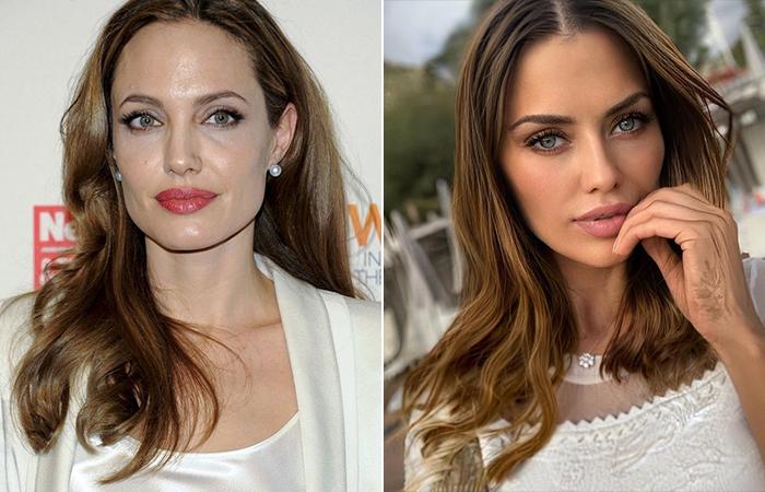 Виктория Боня и Анджелина Джоли