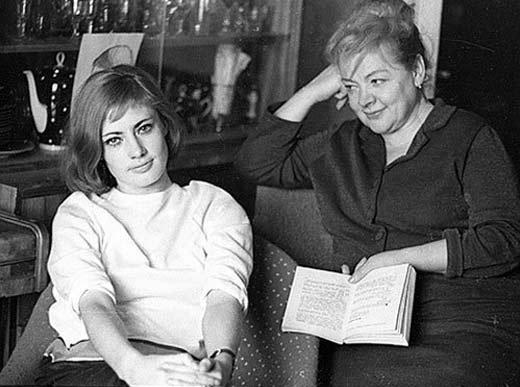 Зоя Фёдорова с дочерью Викторией