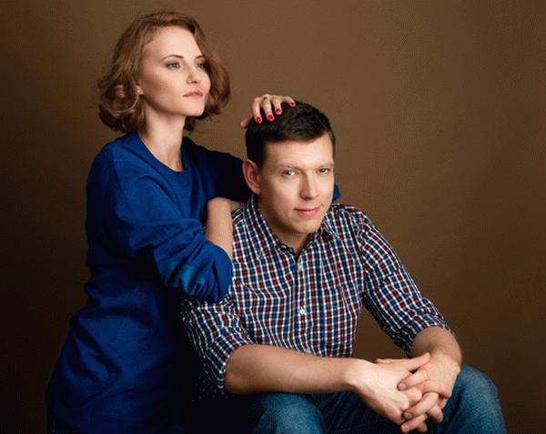 Сергей Лавыгин и Анна Бегунова