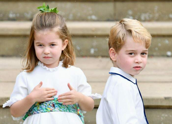 Принц Джордж и принцесса Шарлотта./Фото источник: www.vn.sputniknews.com