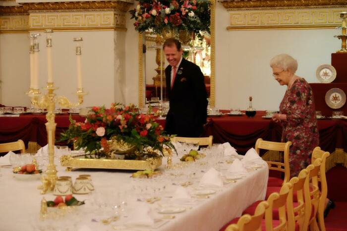 В замке Балмор./Фото источник: pbs.twimg.com