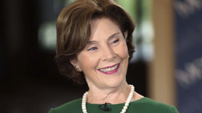 Лора Буш: abc7.com