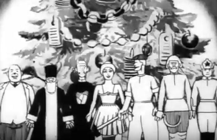 Первая советская анимация