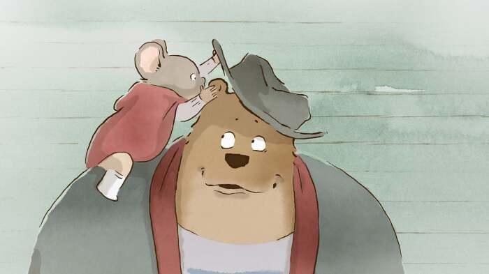 «Эрнест и Селестина: Приключения мышки и медведя», 2012 год