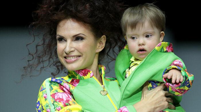 Эвелина Бледанс с Семеном