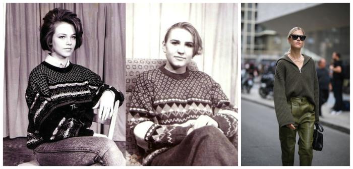 Ну что, вспомнили эти свитера из 90-х?