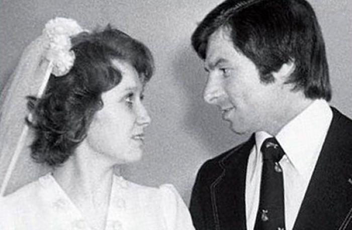 Валерий Харламов с женой Ириной
