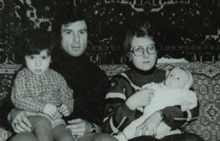 Валерий и Ирина с детьми