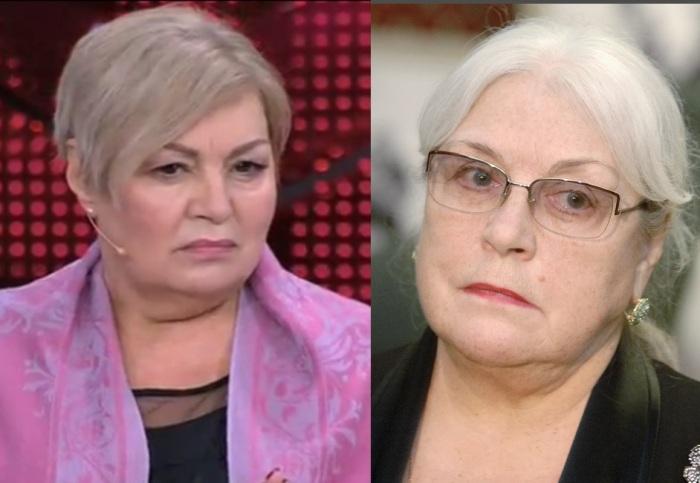 Лидия Федосеева-Шукшина и ее дочь Анастасия