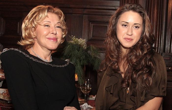 Любовь Успенская и ее дочь Татьяна