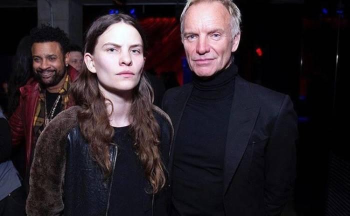 Стинг с дочерью Элиот Самнер, которая не скрывает свою нетрадиционную ориентацию