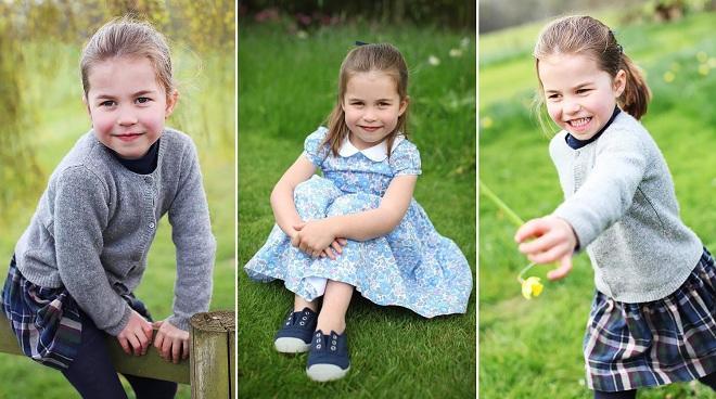 Шарлотта - дочь принца Уильяма и Кейт Миддлтон