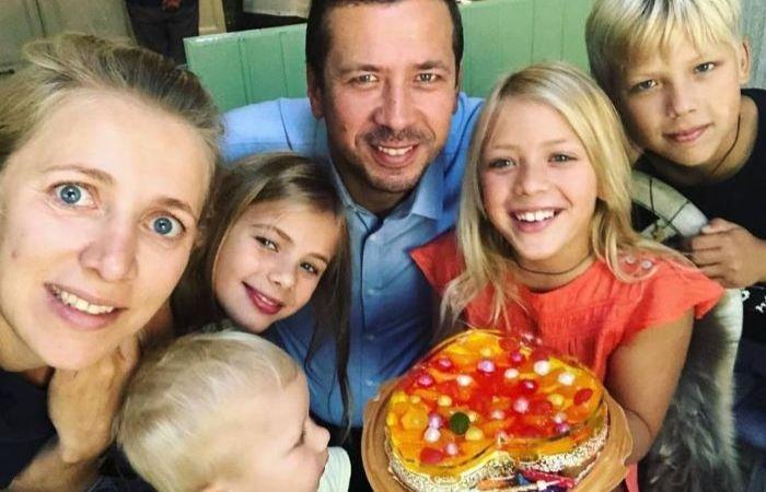 Большая семья Андрея Мерзликина