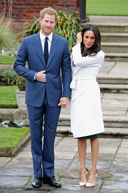 Нарушать королевский протокол Меган Маркл начала уже во время помолвки с принцем Гарри