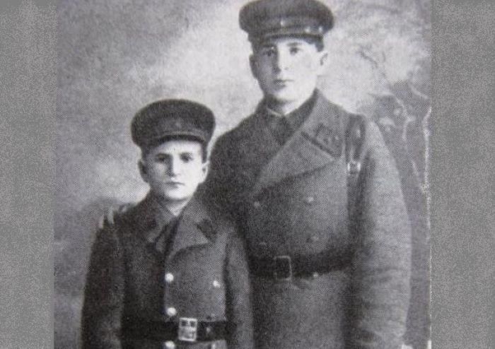 Петр Клыпа с братом Николаем