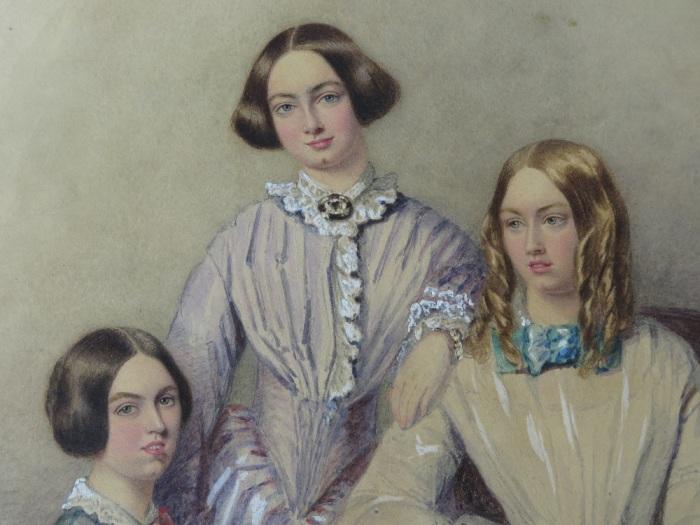 Шарлотта, Эмили и Энн Бронте