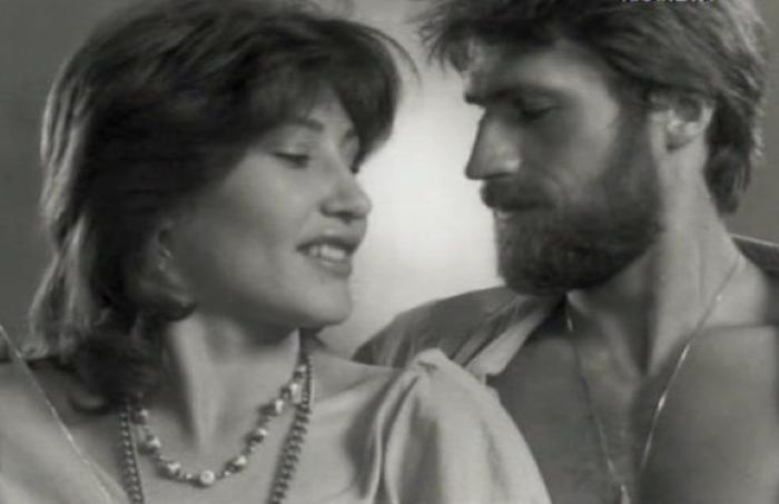 Александр Дедюшко с первой женой Людмилой Томилиной