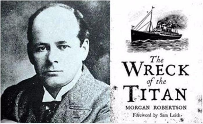 """Считается, что Морган Робертсон предсказал судьбу """"Титаника"""""""