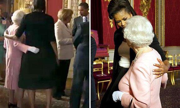 Оказывается, Мишель Обама любит обнимашки