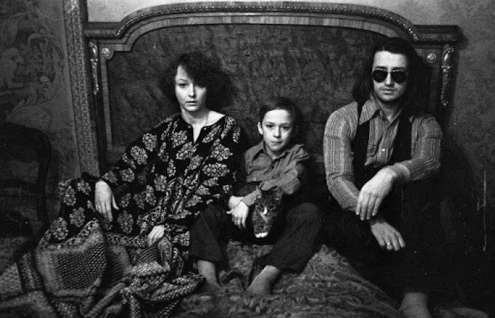 Анастасия Вертинская с сыном и Александр Градский