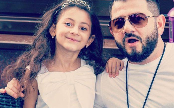 Михаил Галустян с дочерью Эстеллой
