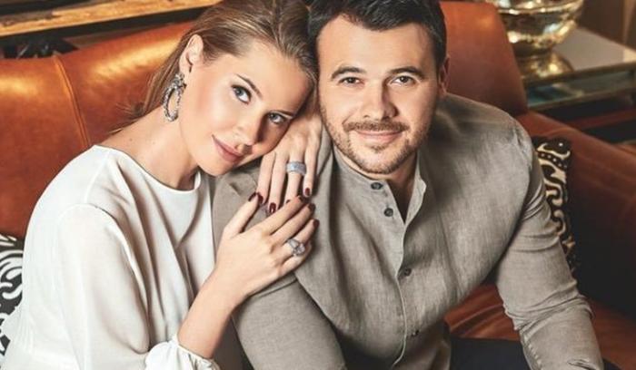 Алена Гаврилова и Эмин Агаларов