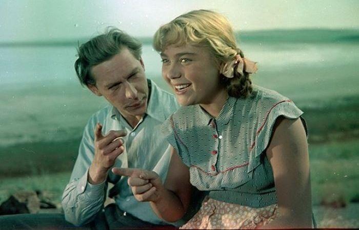 Олег Ефремов и Нина Дорошина